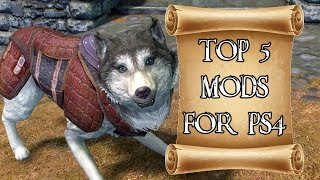 Top 5 Mods of the Month for Skyrim on PS4 #4