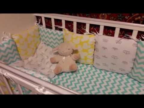 Покупка комплекта в кроватку на сайте Акушерство.