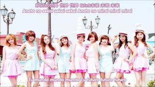 Girls' Generation- Everyday Love (Sub español-Kanji-Romaji)