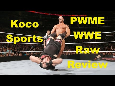"KocoSports - ""WWE Monday Night Raw"" Review - 4/11/16 - (Bullet Club! Awesome Show and Roman Reigns)"