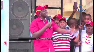 DP Wiliam Ruto claims Nasa want to force a coalition government