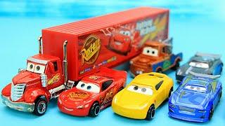 汽車總動員玩具 麥大叔貨櫃車和合金麥坤