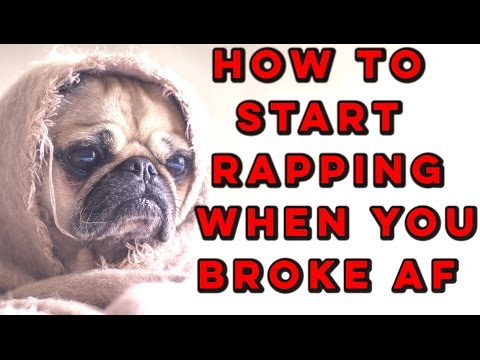 How To Start Rapping When You Have NO Money (Tips + Examples) | How To Rap For Beginners