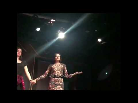 Sneak Peek of @LanaParrilla 's performance iamaonedayplays @iamatheatre  credit in the Video