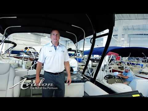 2018 Pontoon Boat AVALON LSZ | Features and Upgrades | Highlights for 2018