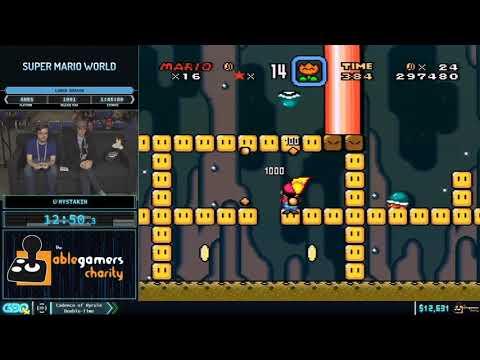 Super Mario World By Mystakin In 1:37:40 - GDQx 2019