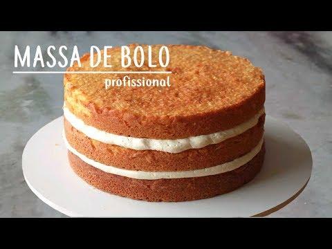 BOLO PROFISSIONAL | MASSA PERFEITA PARA PASTA AMERICANA E NAKED CAKE |