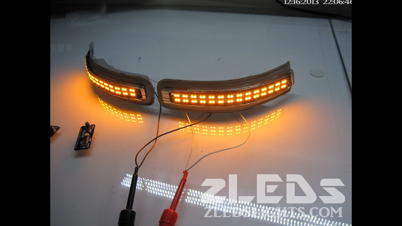 Nissan Maxima Sequential Led Mirrors Signals By Zleds