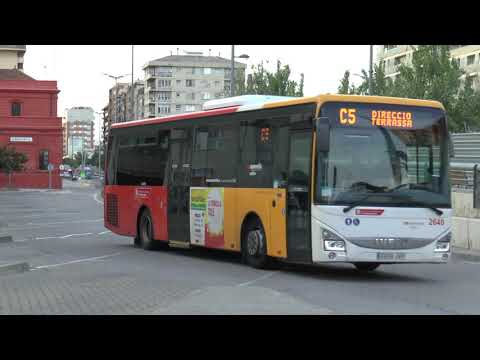 SABADELL BARCELONA EVENING BUS SERVICES SEPT 2017