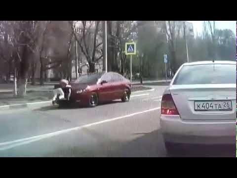 ВИДЕО авария в Невинномысске с девочкой