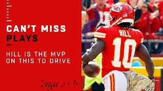 Tyreek Hill is the MVP of this Lightning-Fast TD Drive!