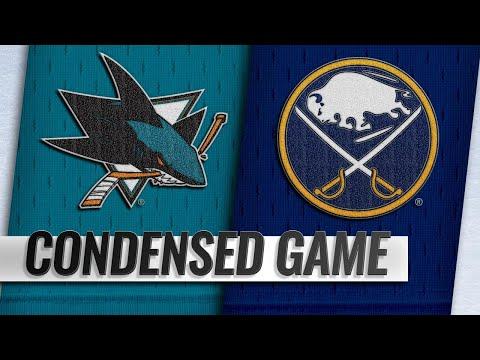 11/27/18 Condensed Game: Sharks @ Sabres