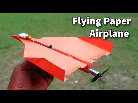 How to Make Electric Paper plane