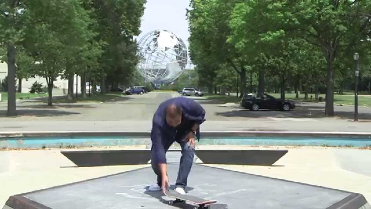 John Quinones Kickflip Behind The Scenes | What Would You Do? | WWYD