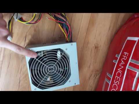 Как подключить магнитолу к компьютерному блоку питания,изи гайд