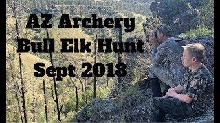Arizona Archery Bull Elk Hunt: Sept 2018