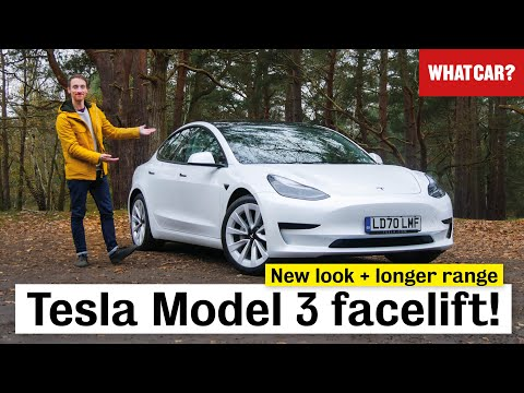 New 2021 Tesla Model 3 facelift review – ALL changes in detail! | What Car?