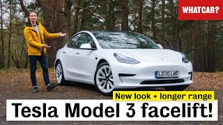 New 2021 Tesla Model 3 facelift review - ALL changes in detail! | What Car?
