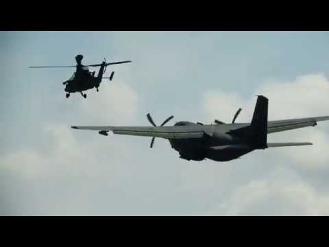 ILA2018 Quick Preview Edit - Bundeswehr Special Forces Air Transport And Support Demonstration