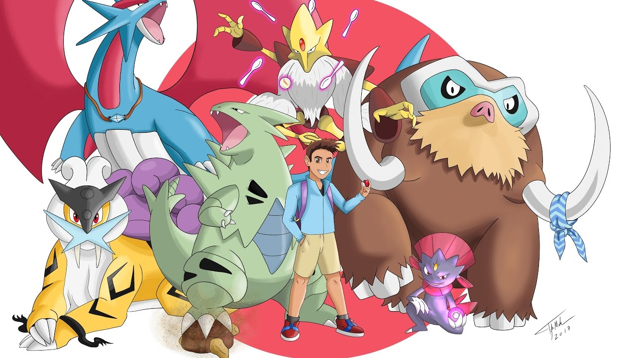 how to make the ultimate pokemon team