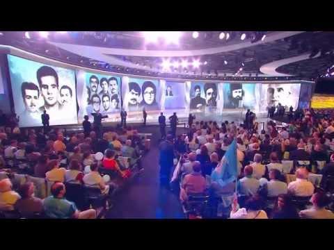 مريم رجوي - گردهمايي بزرگ مقاومت ايران 23خرداد94 - پاريس