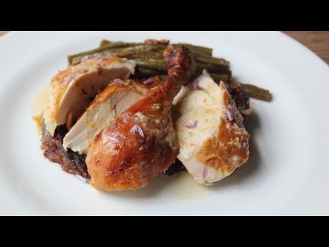 Million Dollar Chicken Roast Chicken With Creme Fraiche Shallot