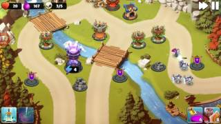 castle creeps td chapter 6 level 23 river crossing 3 stars