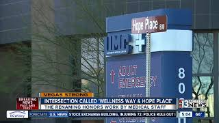 Las Vegas intersection renamed to honor medical staff