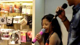 Calista Amadea feat Nugie  I Love Mama Papa  Disc Tarra PIM 1 Jakarta (live)
