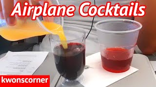 How To Make Free Cocktails On Any Airplane (6 Recipes)