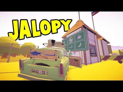 WE'RE DRIVING TO TURKEY! Raiding Junk Yards and Stealing Car Parts - Jalopy NEW UPDATE Gameplay Ep 5