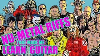 8 Nu-Metal Guitar Riffs That Made Me Want To Start Playing Guitar