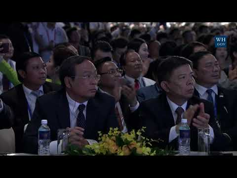 BREAKING NEWS TODAY 11.10.2017 - President Trump Delivers Remarks to the APEC CEO Summit!
