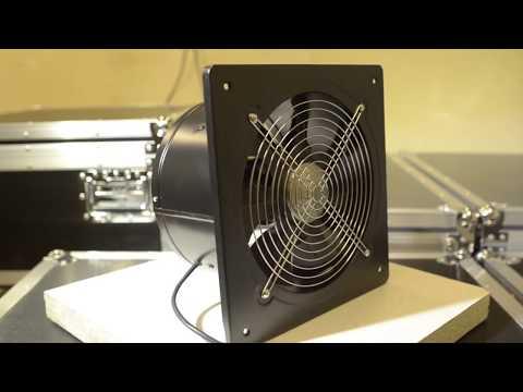 Мощный металлический вытяжной вентилятор PRO-250 | Обзор со всех сторон