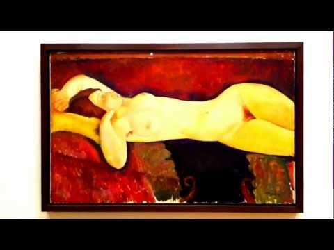 Amedeo Modigliani - Reclining Nude [ 1919 ]