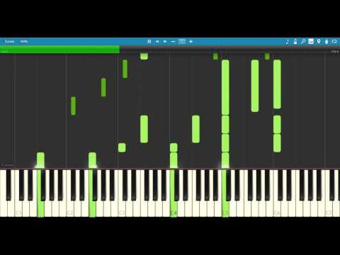 Ao no Exorcist - BLUE (pfs) - [Synthesia] Piano cover