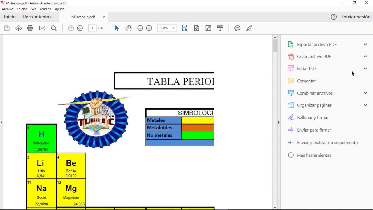 convertidor de excel a pdf