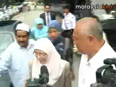 Anwar arrested outside his house