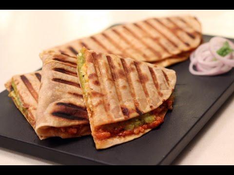 Cheesy Aloo Wrap | Sanjeev Kapoor Khazana