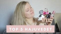Top 5: Suosikki hajuvedet