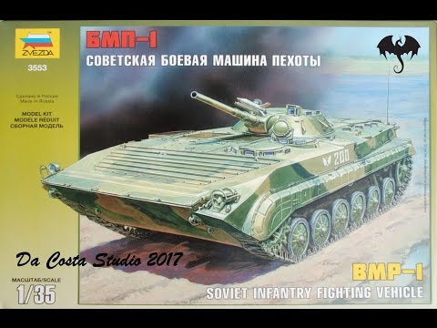 Let´s Start Build -Zvezda BMP-1 - 1:35 Scale