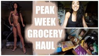 Peak Week GROCERY HAUL | Spring 2016 BIKINI PREP