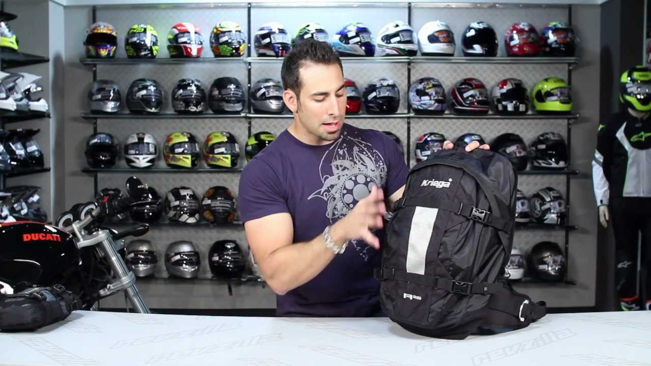 Kriega R25 Backpack Review at RevZilla.com - YouTube