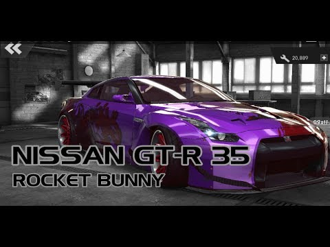 modif NISSAN GT-R 35 ROCKET BUNNY || NFS no LIMITS