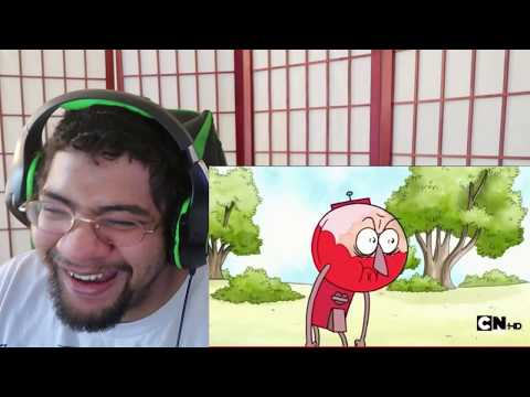 Best Of Regular Show- Benson Rages Out!