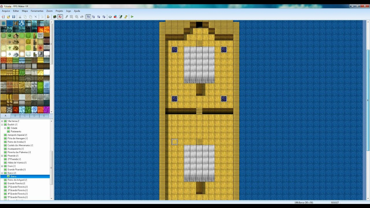 Rpg maker vx frontal view boat hd youtube for View maker