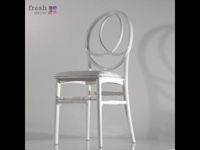 Видеообзор стула для уличного кафе и ресторана из практичного и крепкого пластика. Продажа в Украине