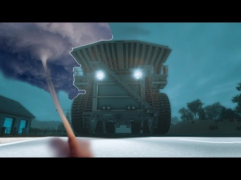 RACING A TORNADO! -  Giant Machines 2017 Gameplay and Funny Moments