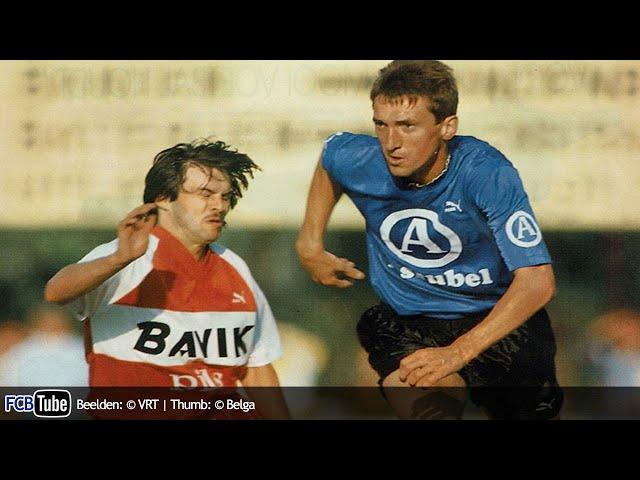 1989-1990 - Jupiler Pro League - 27. Club Brugge - SV Waregem 3-0