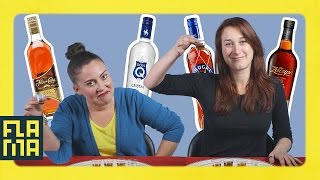 Latinos Try Latin American Rums